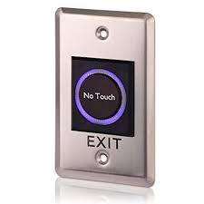 دکمه خروج استیل غیر تماسی