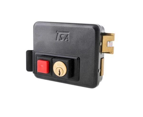 قفل برقی بیرون بازشو کلید ساده تسا TSA