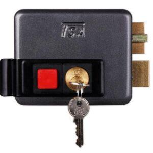 قفل برقی داخل بازشو کلید ساده تسا TSA