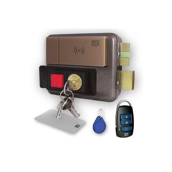 قفل برقی ریموتی کارت و تگ خوان تسا TSA